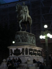 Prince Mihailo monument, Republic Square