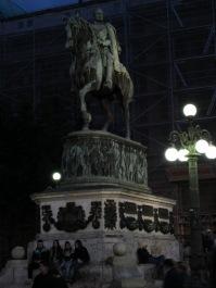 Prince Mihailo monument, Republic Square