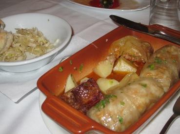 pre-departure dinner: sarma