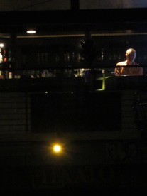 bad picture, great idea: bar above campus bookstore