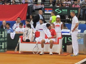 Serbian bench