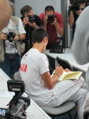 Nole takes notes