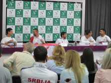 winners' press conference