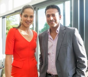 In June, Bhupathi hosted a London reception for players committed to the new International Premier Tennis League.